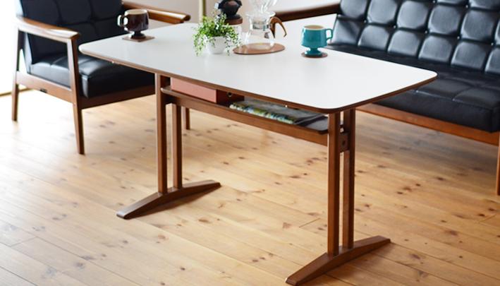 カリモク60__カフェテーブル1200で快適なソファダイニングを楽しむ|インテリアショップ_VANILLA